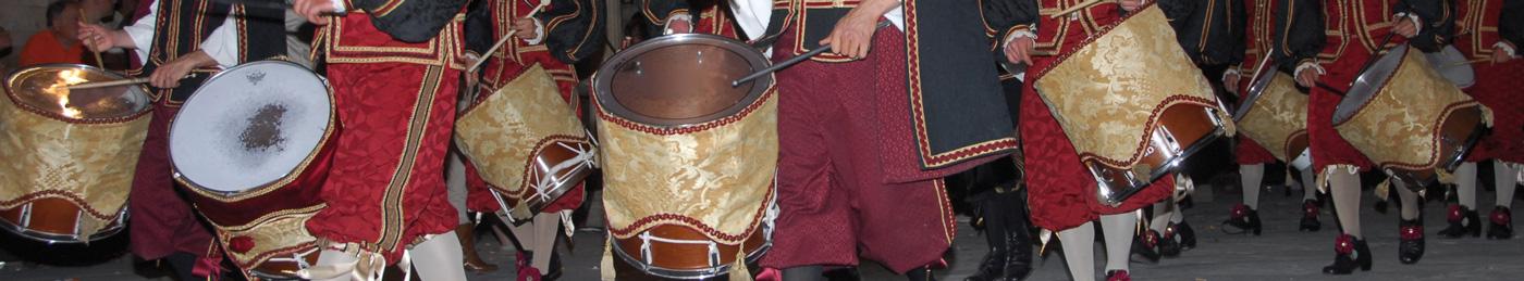 Tamburini rione Badia Foligno